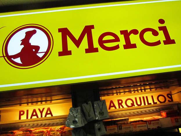 Merci, a convenient food souvenir shop inside Bacolod Airport