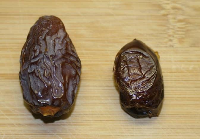 Dates: Medjool and Hadrawi.