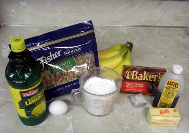"""Various ingredients for """"rotten egg"""" pie."""