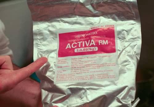 Activa (aka transglutaminase.)