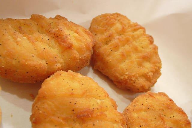 Chicken nuggets.