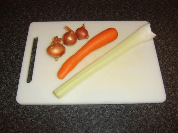 Vegetables for pork chop casserole