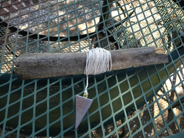 Make your own crabbing line.