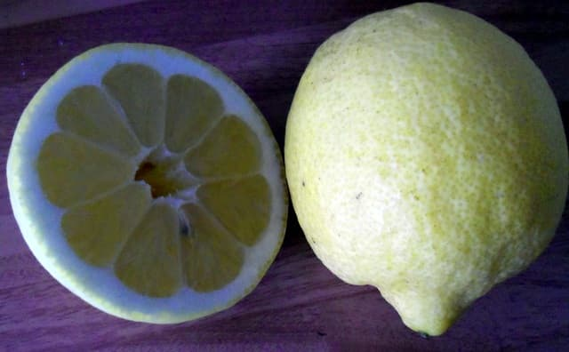 Use the zest and juice of nice, fresh lemons