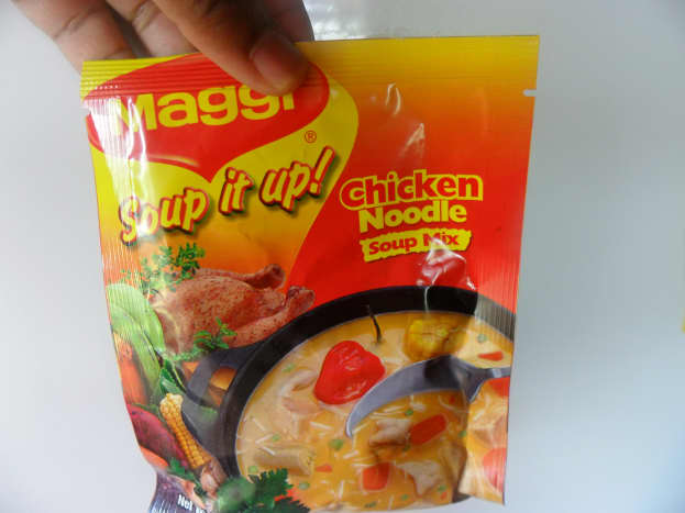 Soup mix packet.
