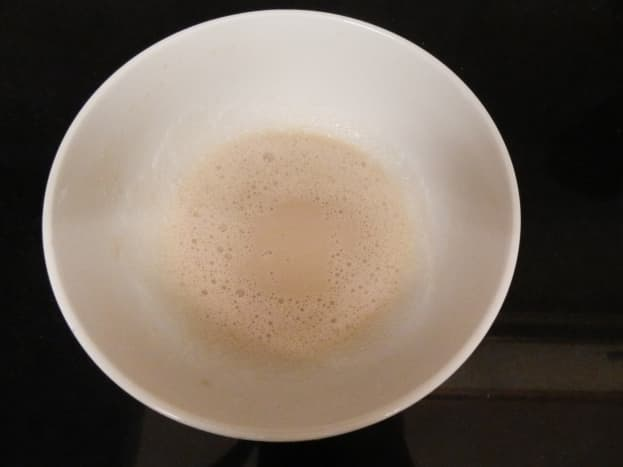 The yeast mixture