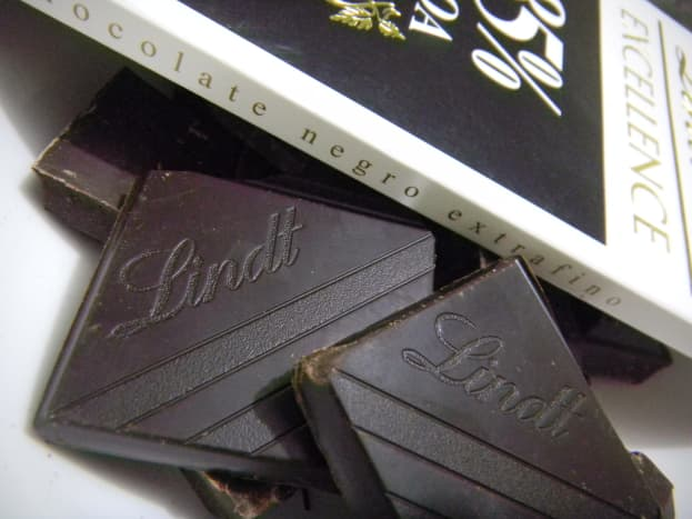 Use a good quality chocolate for topping.