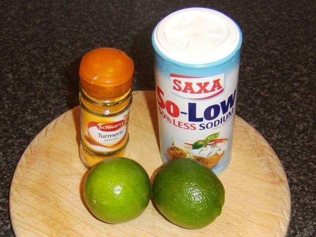 Haddock marinade ingredients