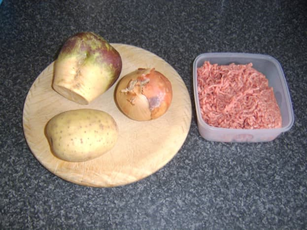 Tattie, neep, onion and mince