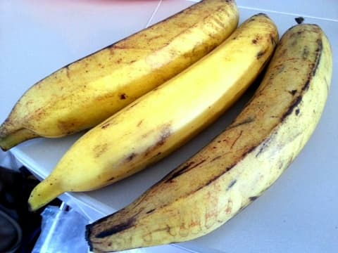 Pisang tanduk is the most expensive of all the varieties listed here and is second in my list of the best banana varieties for banana fritters.
