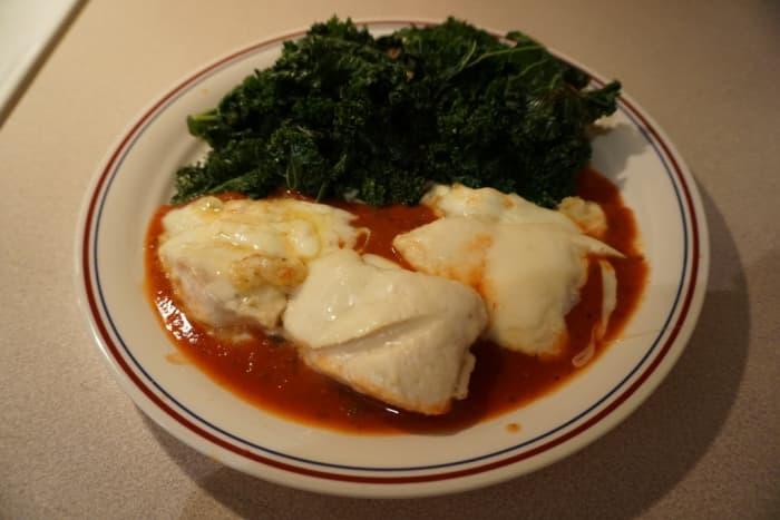 Skinny Chicken Mozarella