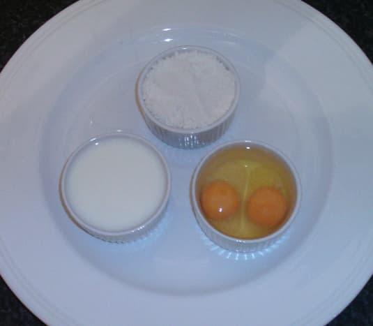 Principal Yorkshire pudding ingredients