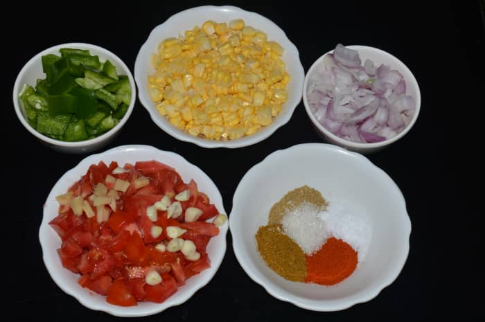 Step one: Prep the ingredients.