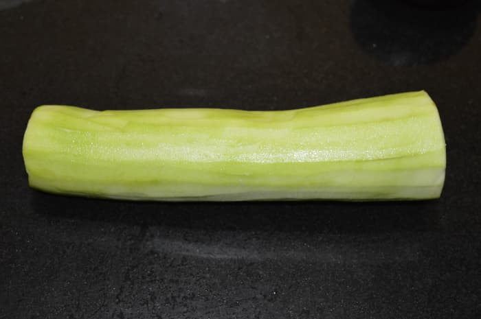 This is what bottle gourd looks like.