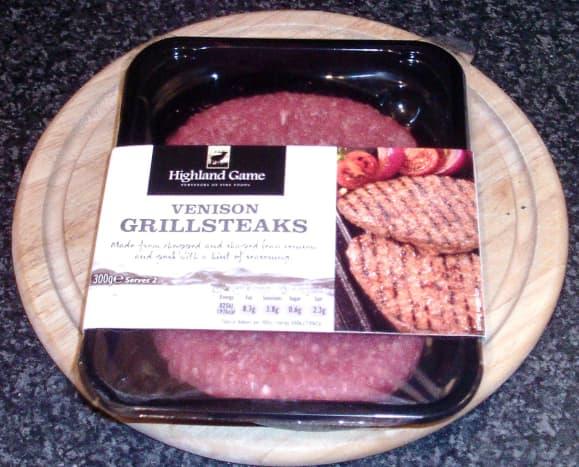 Venison grillsteaks