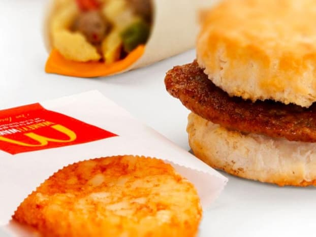 McDonalds offers a variety of breakfast sandwiches