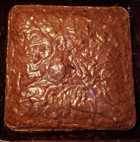 Let brownies cool.
