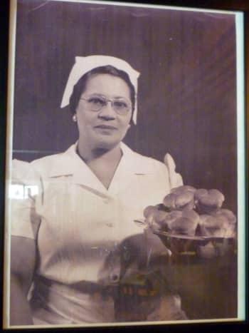 Photo of Lucille, the restaurant's namesake