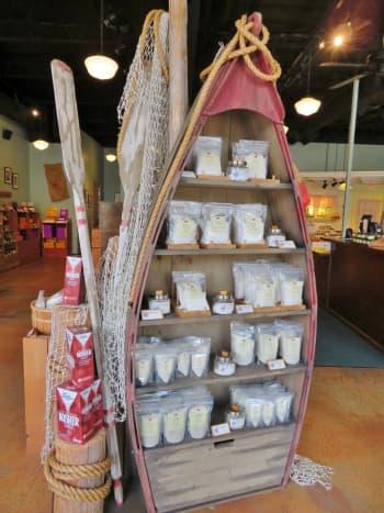Salt selections on display