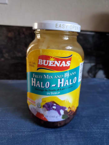 Halo-halo mix (mixed fruit and beans)