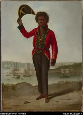 A Bungaree Australian Aboriginal Leader