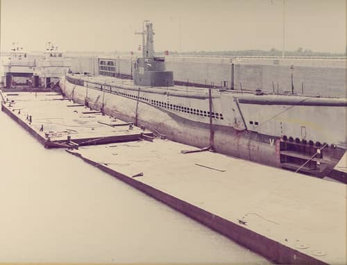 The USS Batfish: Preparing for Dry Dock
