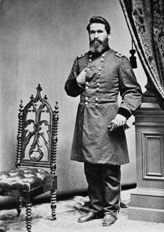 General Blunt who led the Kansas Division