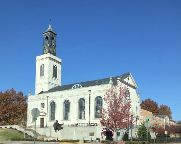 The National Churchill Museum/Church of St. Mary, Aldermanbury