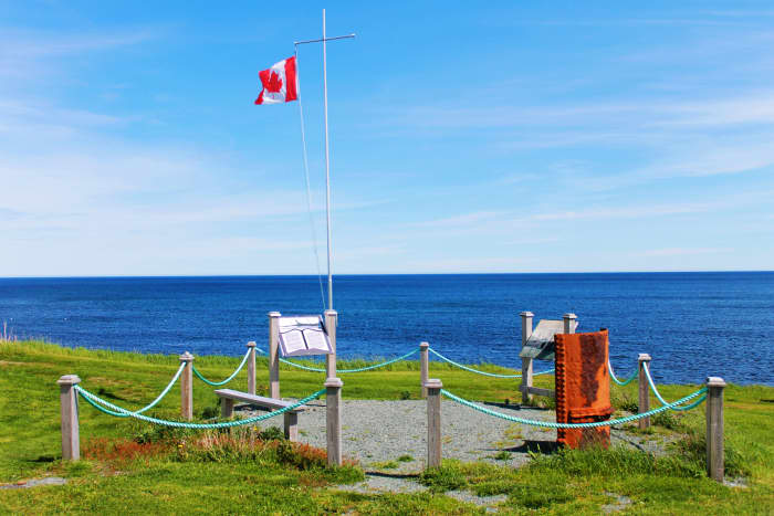 Florizel Memorial at Cappahayden, Newfoundland Labrador