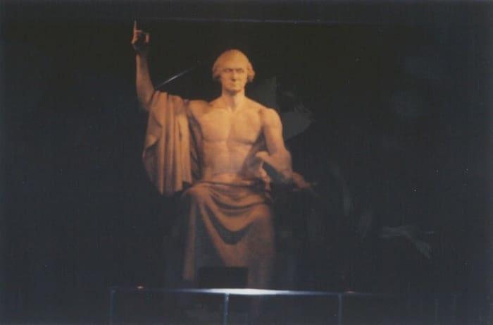 George Washington at the Smithsonian http://americanhistory.si.edu/exhibitions/george-washington-sculpture
