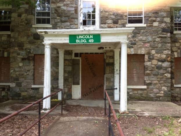 Lincoln Building Letchworth Village Abandoned insane Asylums