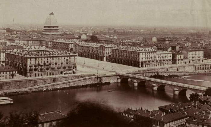 Turin, Italy, circa 1850-1860.