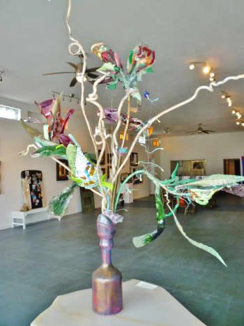 Lee Benner Art inside KCAM