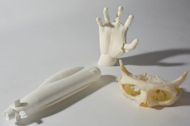Bones 3D printed around 2013.