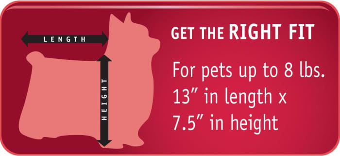 Measuring for the Sherpa Original Deluxe Pet Carrier in Small