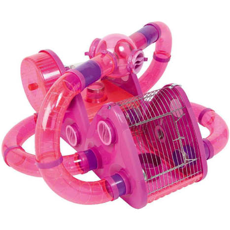 Unsuitable for all hamster types. These promote suffocation, toxic fumes and they are less than a quarter of the size a Syrian, dwarf, Chinese and Roborovski hamster require. They are impossible to clean and very dangerous. Hamsters can barely move.
