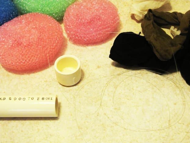 how-to-make-a-pot-scrubber-air-filter