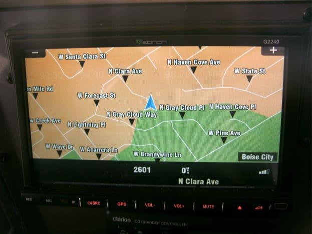 Primary GPS screen