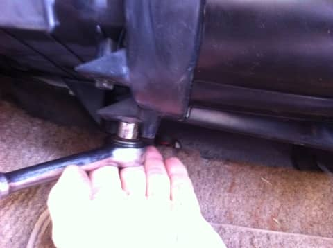 Start by removing the screws holding the cover on. Screw number one...