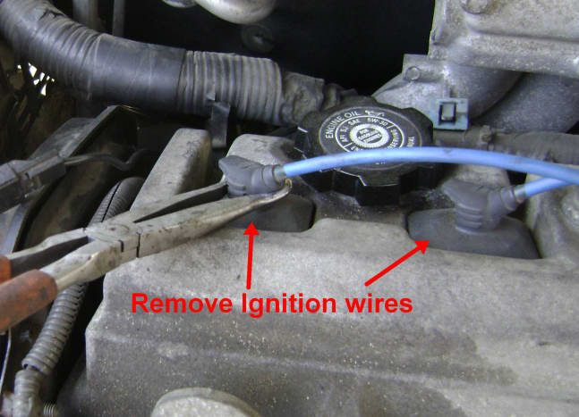 Camry Ignition Wire Removal