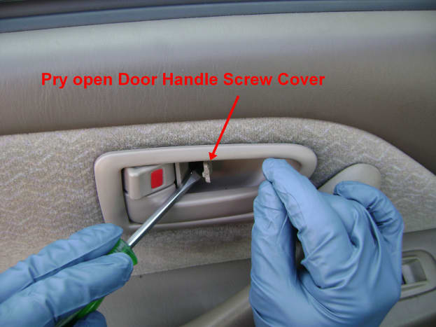 Toyota Camry Rear Inside Door Bezel