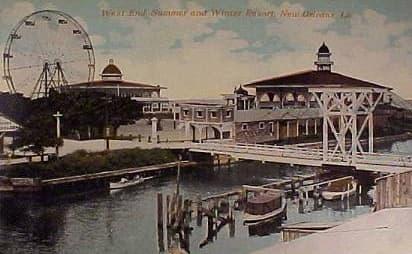 West End Amusement Park, New Orleans.