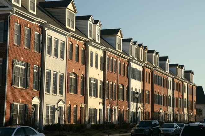 Townhouses.