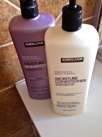 Kirkland's Shampoo and Conditioner have been compared to offerings from high-end brands such as Pureology.