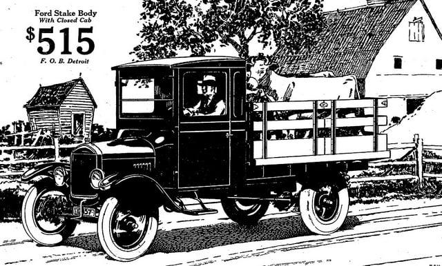 1925 Ford Model TT Truck
