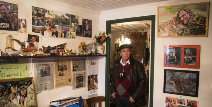 Marcos Rodriguez Pantoja at His Home