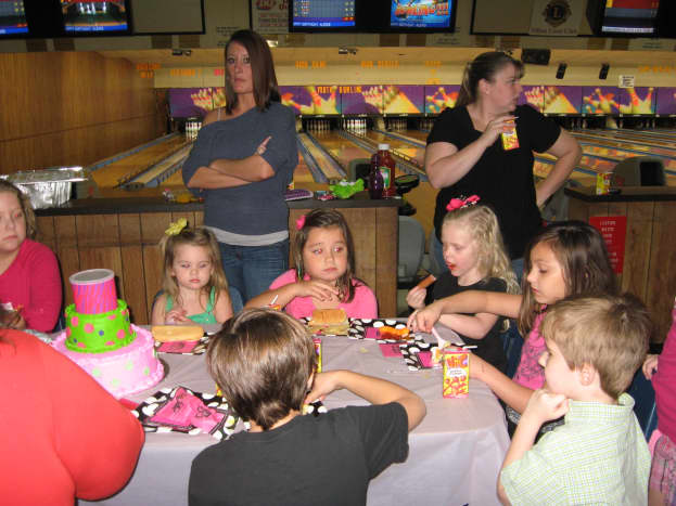 I've helped with lots of kids parties.