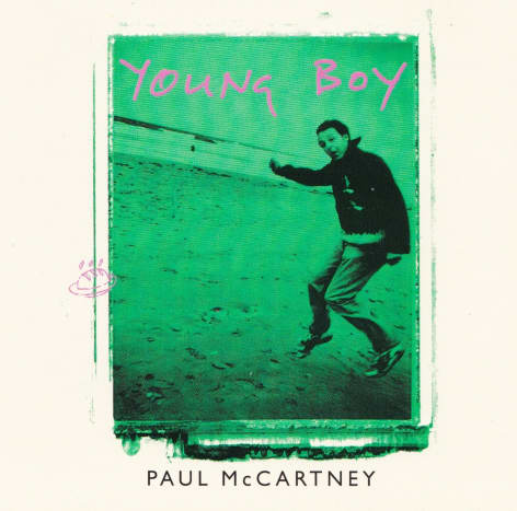 """Cover of  """"Young Boy"""" CD single #2, 1997"""