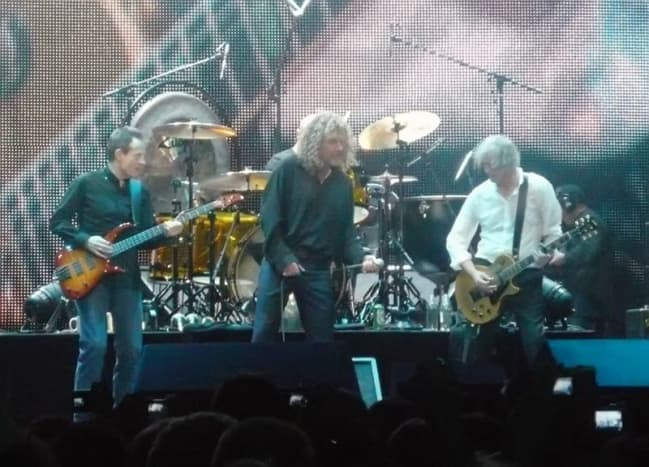 Led Zeppelin reunion in 2007