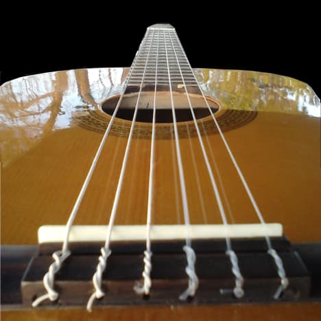 Head down to the other end of the strings...